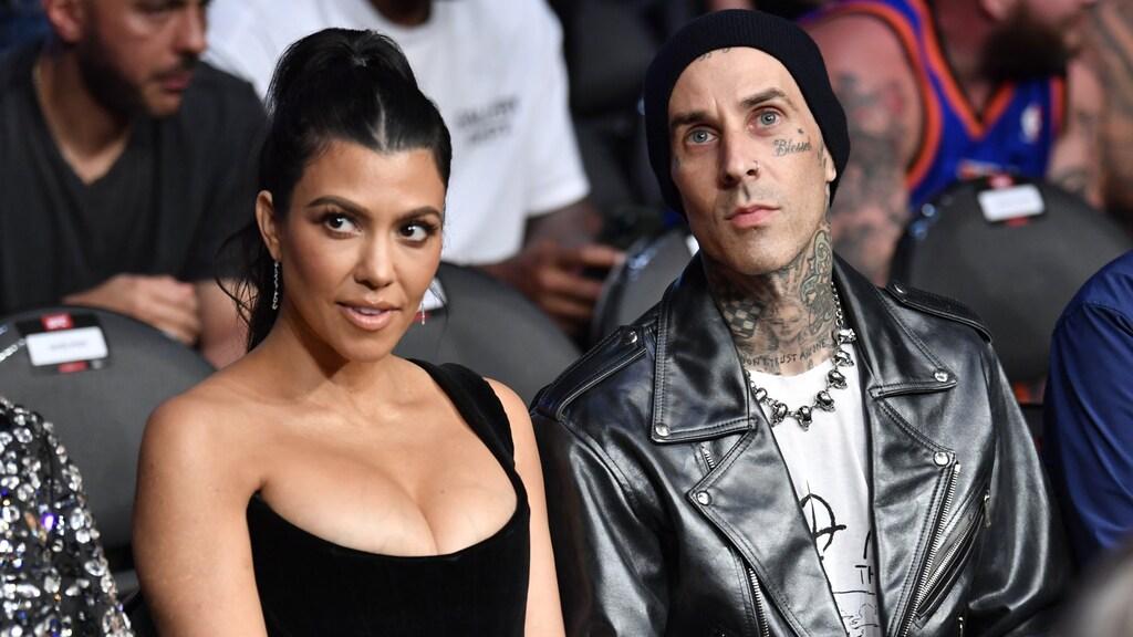 Lief: Kourtney Kardashian deelt foto's van huwelijksaanzoek