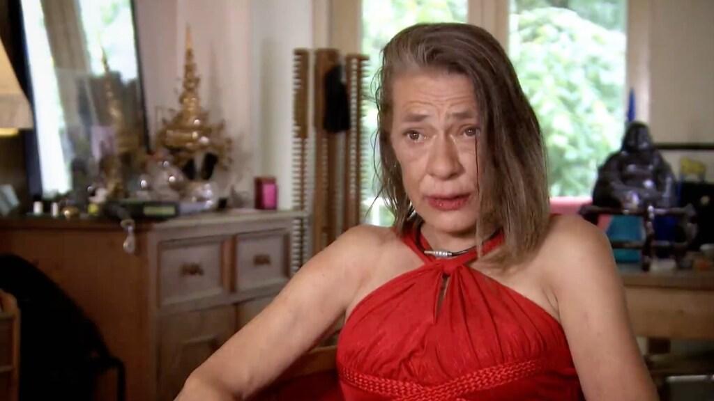 Bridget Maasland in shock door outfit van Annemiek