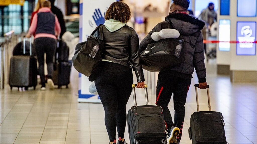 Nederlanders vanuit Marokko aangekomen in Brussel